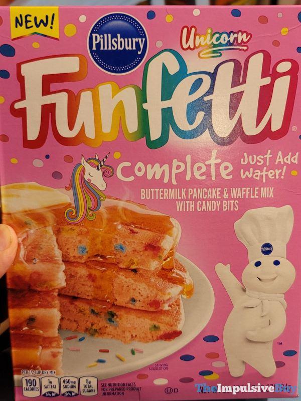 Pillsbury Unicorn Funfetti Complete Buttermilk Pancake  Waffle Mix