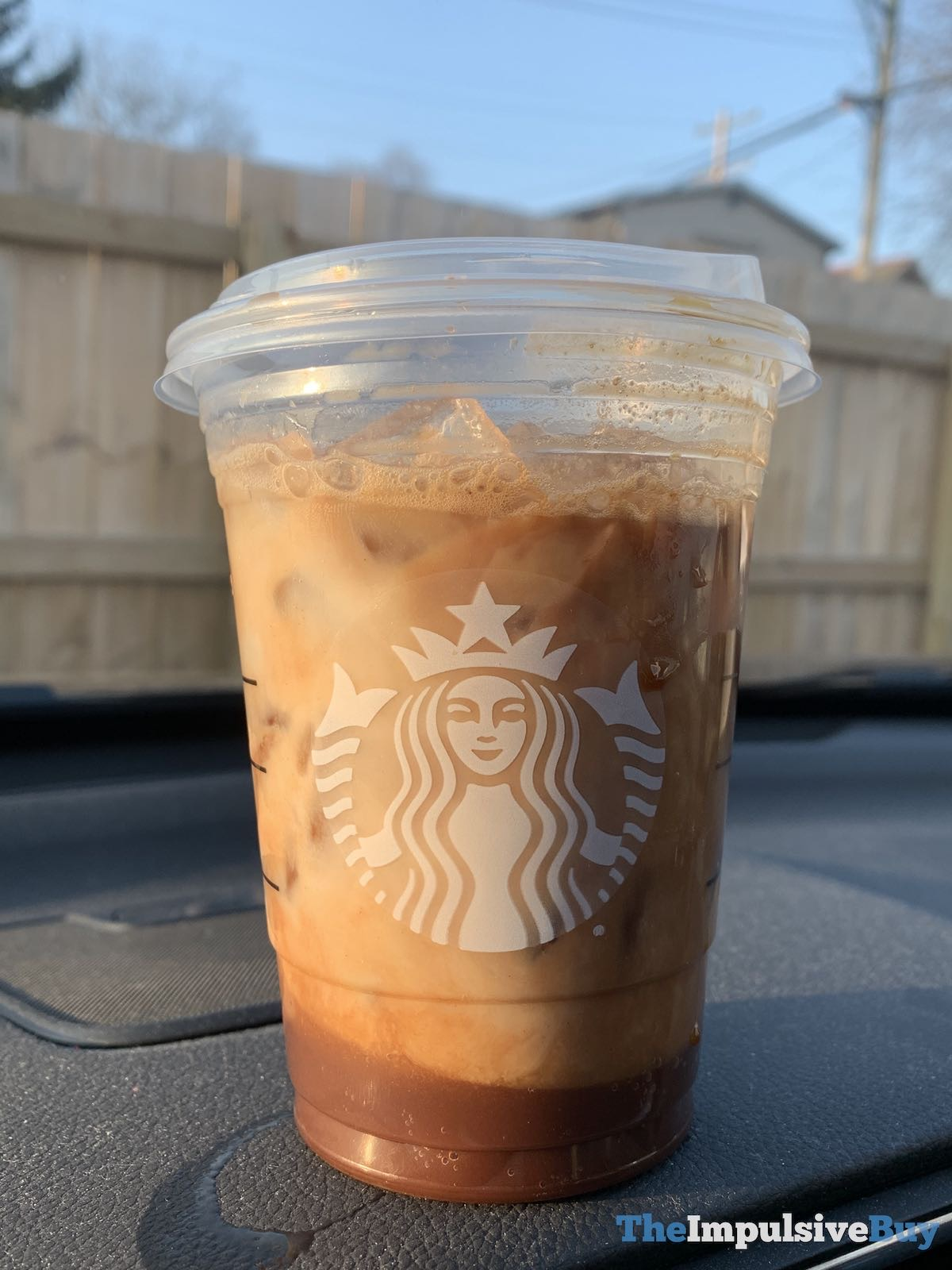REVIEW: Starbucks Iced Chocolate Almondmilk Shaken Espresso - The Impulsive Buy