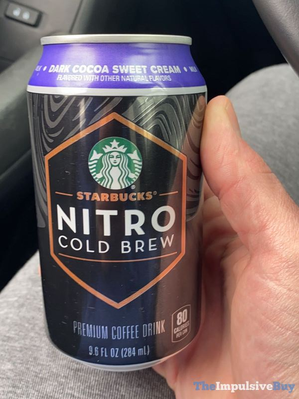 Starbucks Nitro Cold Brew Dark Cocoa Sweet Cream