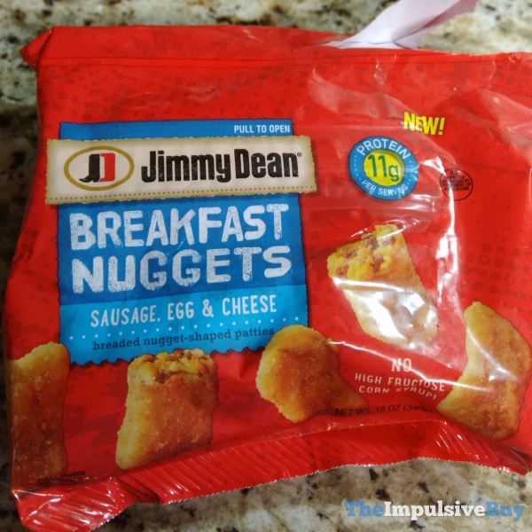 Jimmy Dean Sausage Egg  Cheese Breakfast Nuggets