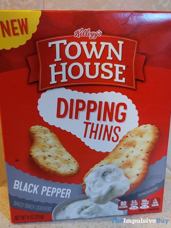 Kellogg s Town House Black Pepper Dipping Thins