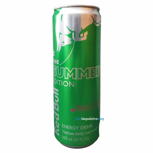 Red Bull Summer Edition Dragon Fruit Energy Drink Can