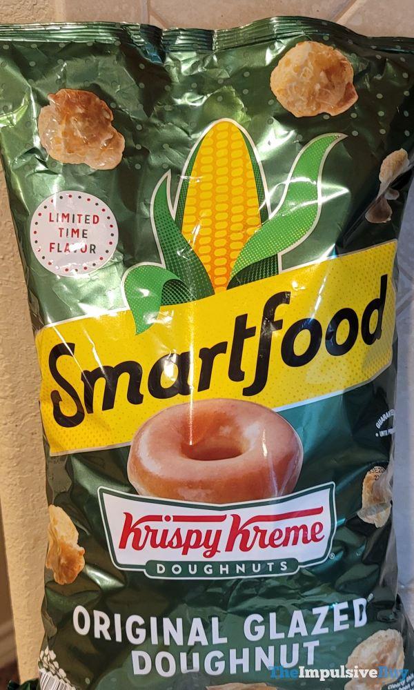 Smartfood Krispy Kreme Original Glazed Doughnut Popcorn