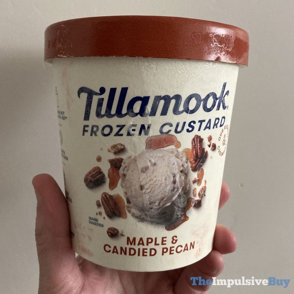Tillamook Maple  Candied Pecan Frozen Custard