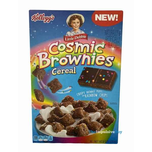 Kellogg s Little Debbie Cosmic Brownie Cereal Box