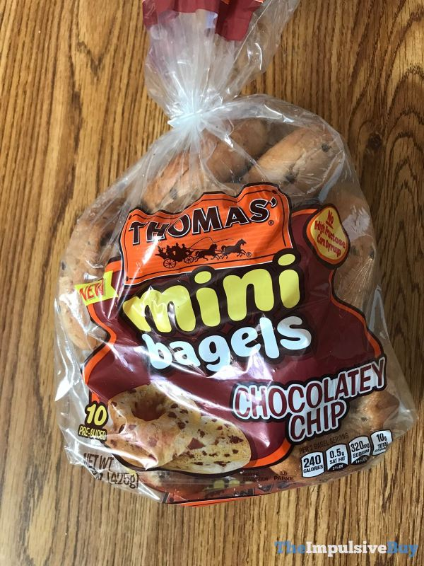 Thomas Chocolatey Chip Mini Bagels