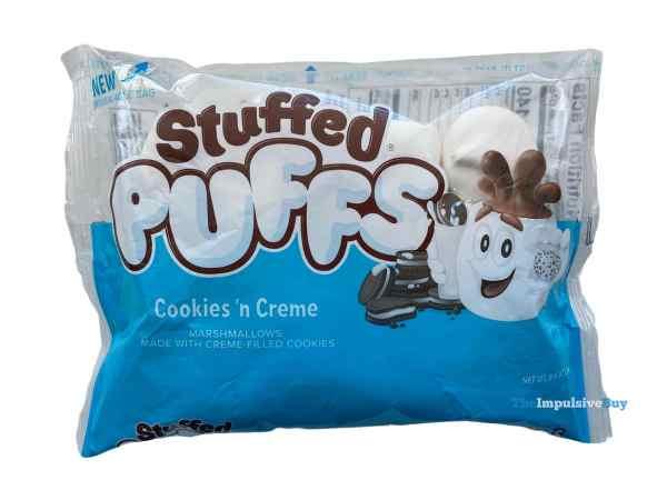 Cookies  n Creme Stuffed Puffs Bag
