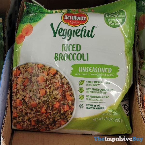 Del Monte Veggieful Unseasoned Riced Broccoli