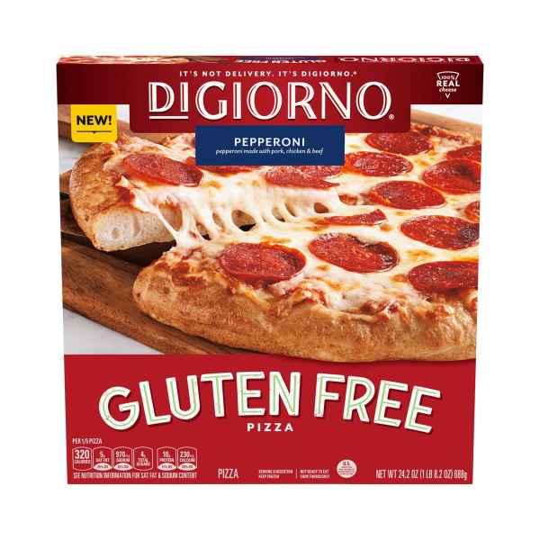 Gluten Free Pepperoni DiGiorno Pizza Box