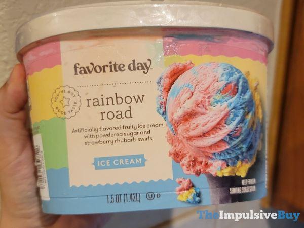 Favorite Day Gourmet Rainbow Road Ice Cream