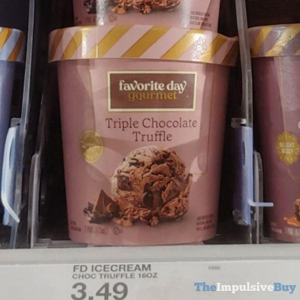 Favorite Day Gourmet Triple Chocolate Truffle Ice Cream