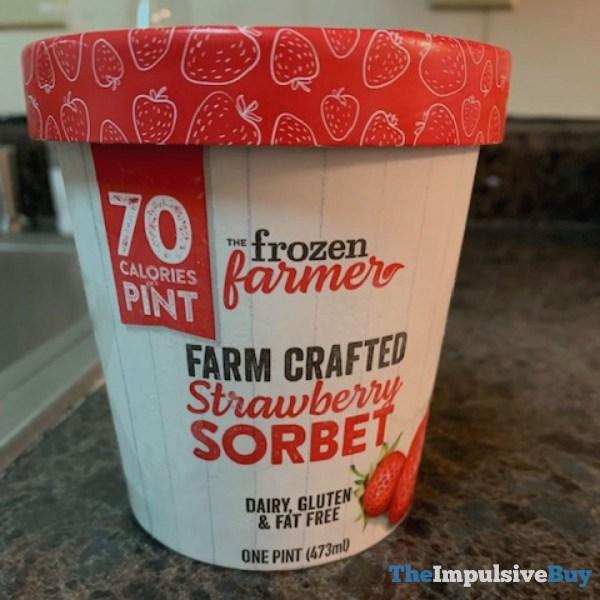 The Frozen Farmer Farm Crafted Strawberry Sorbet
