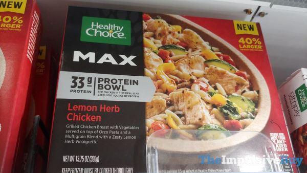 Healthy Choice Max Lemon Herb Chicken