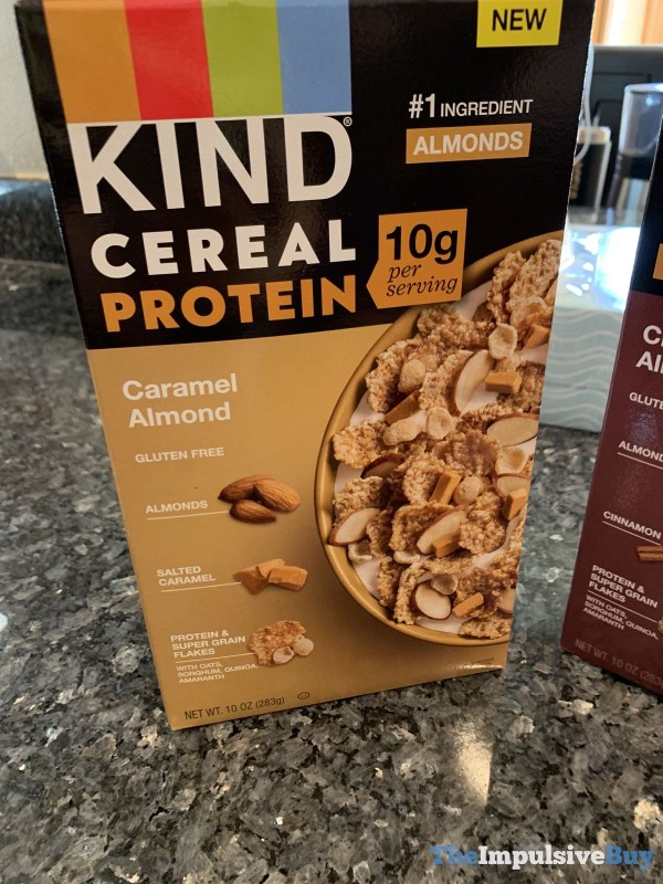 Kind Cereal Protein Caramel Almond
