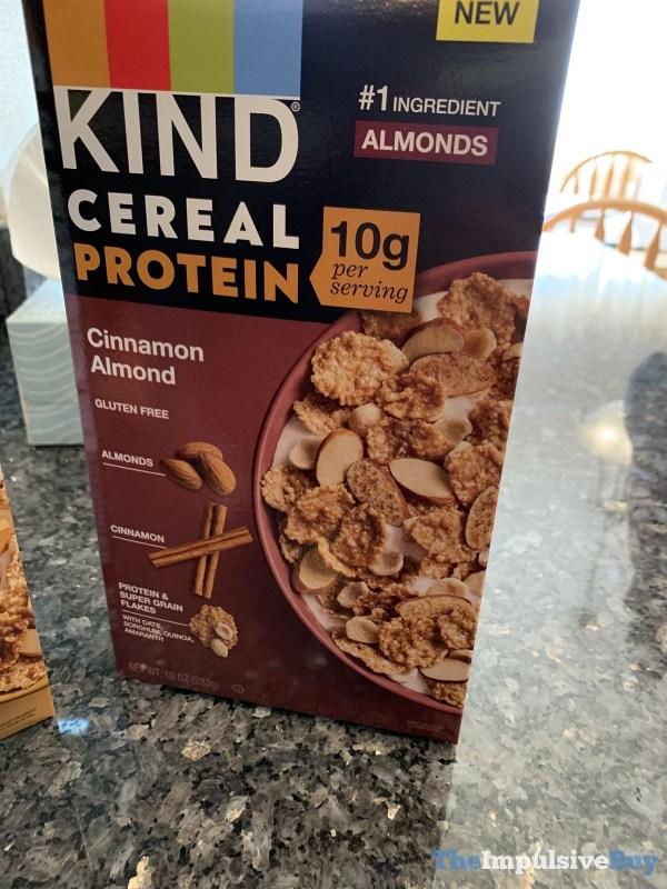 Kind Cereal Protein Cinnamon Almond