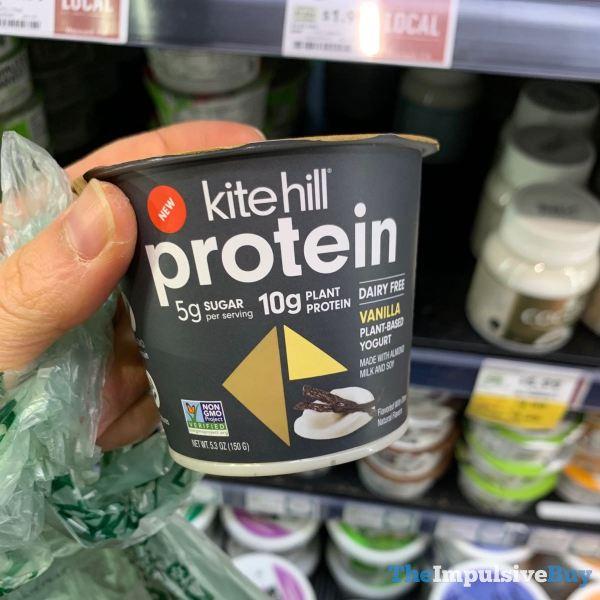 Kite Hill Protein Dairy Free Vanilla Plant Based Yogurt