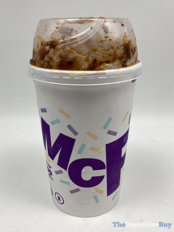 McDonald s Caramel Brownie McFlurry Cup