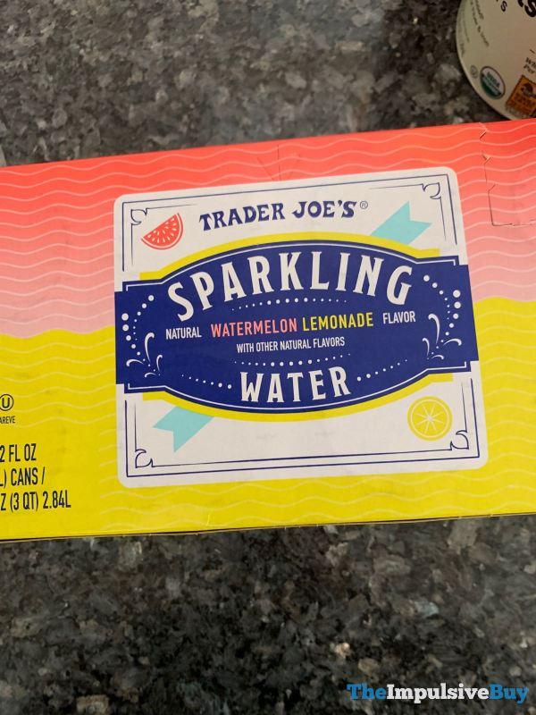 Trader Joe s Watermelon Lemonade Sparkling Water
