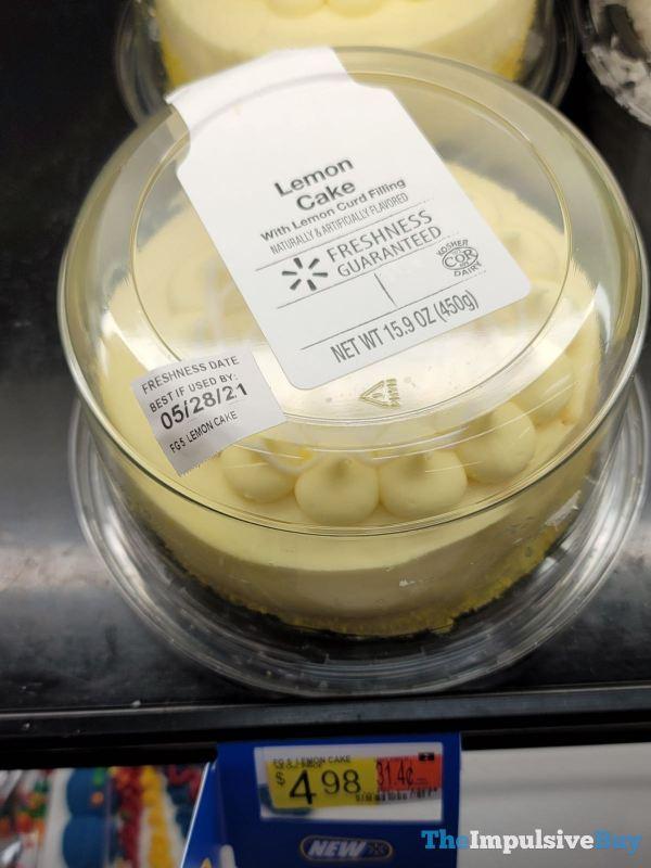 Walmart Lemon Cake