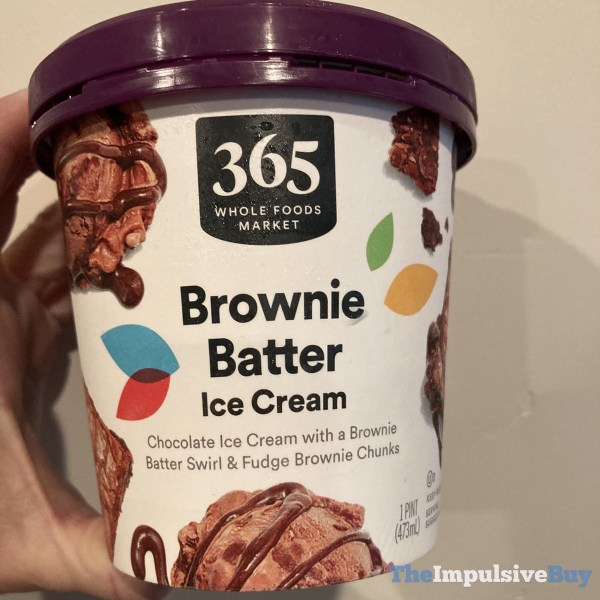 365 Whole Foods Market Brownie Batter Ice Cream