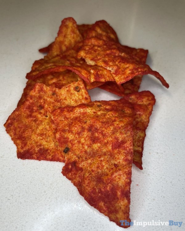Xxtra Flamin Hot Nacho Doritos Closeup