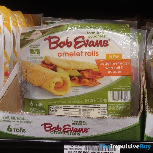 Bob Evans Salt  Pepper Omelet Rolls