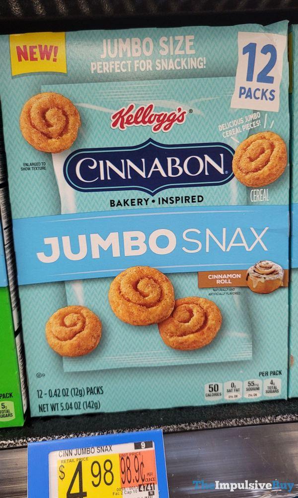 Kellogg s Cinnabon Jumbo Snax