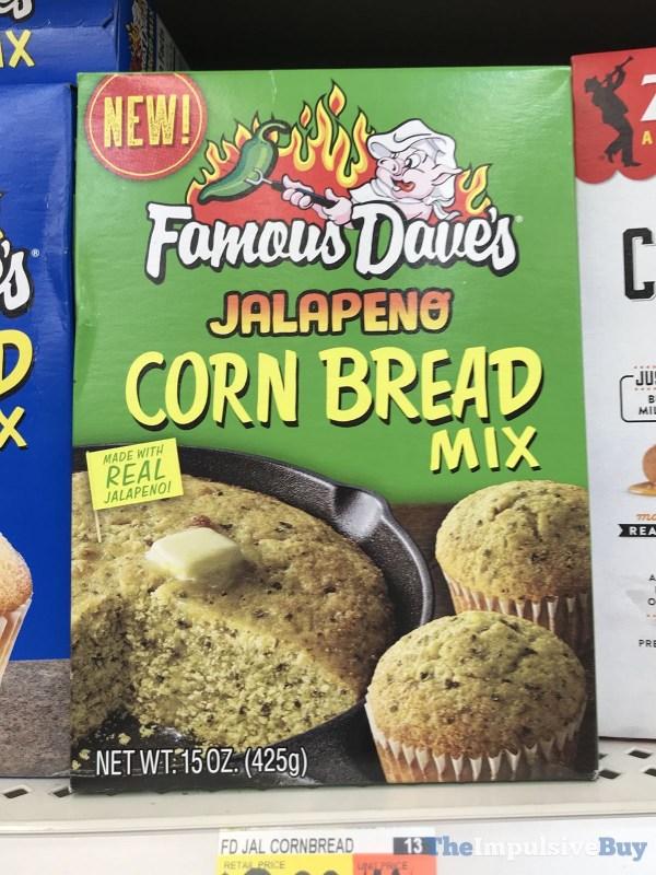 Famous Dave s Jalapeno Corn Bread Mix