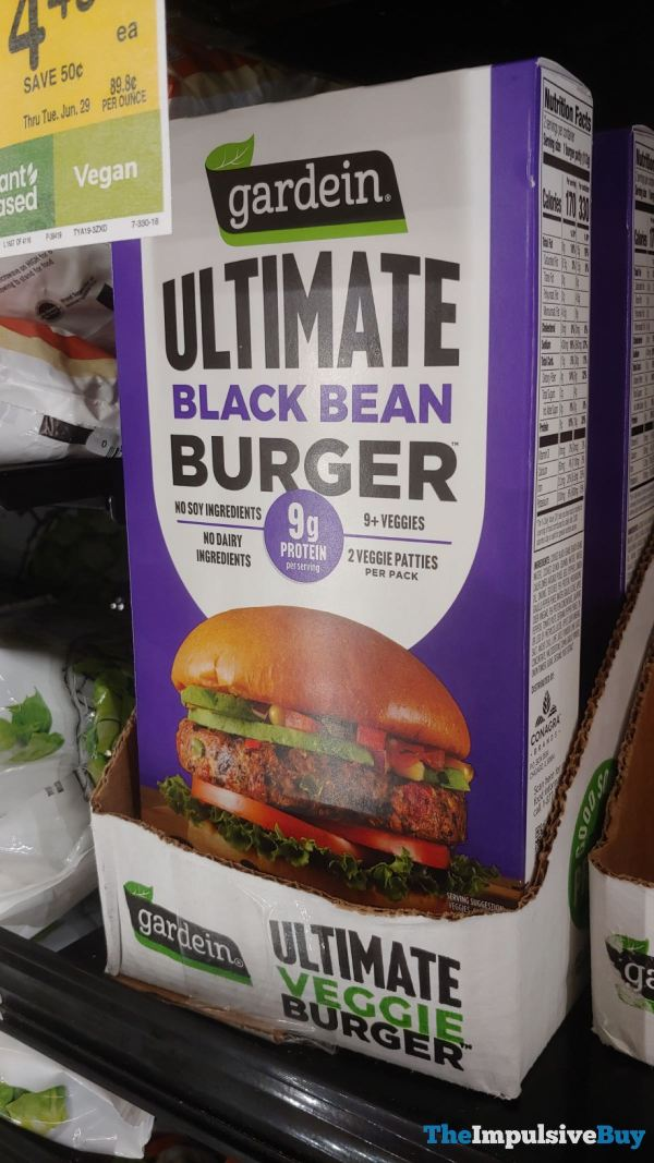 Gardein Ultimate Black Bean Burger