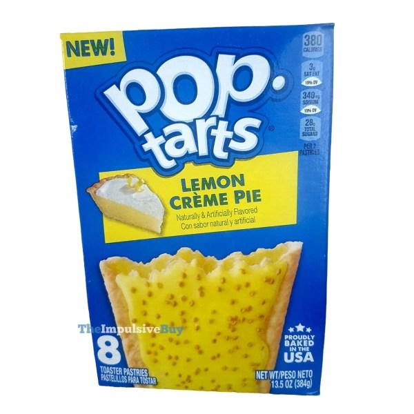 Lemon Creme Pie Pop Tarts Box