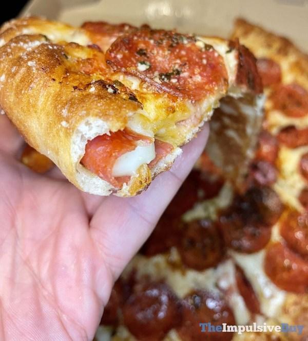 Little Caesars Pepperoni  Cheese Stuffed Crust Pizza Stuffed