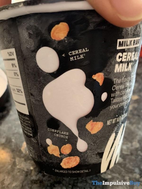 Milk Bar Cereal Milk Ice Cream Back