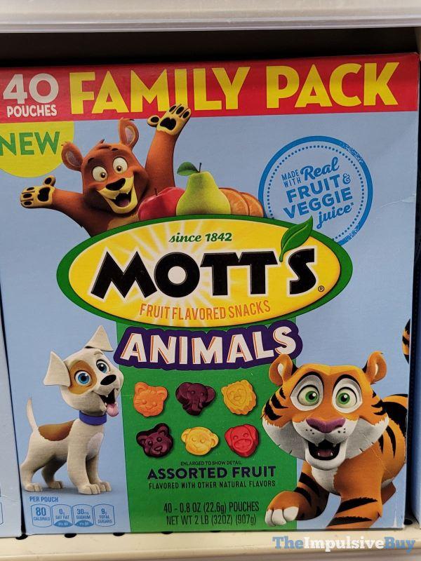 Mott s Animals Assorted Fruit Snacks