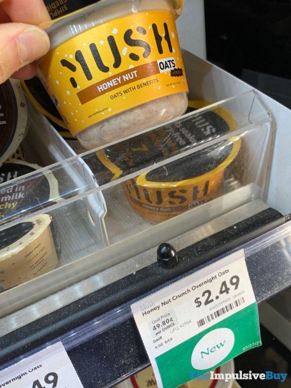 Mush Honey Nut Overnight Oats