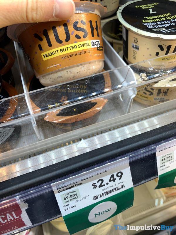 Mush Peanut Butter Swirl Overnight Oats