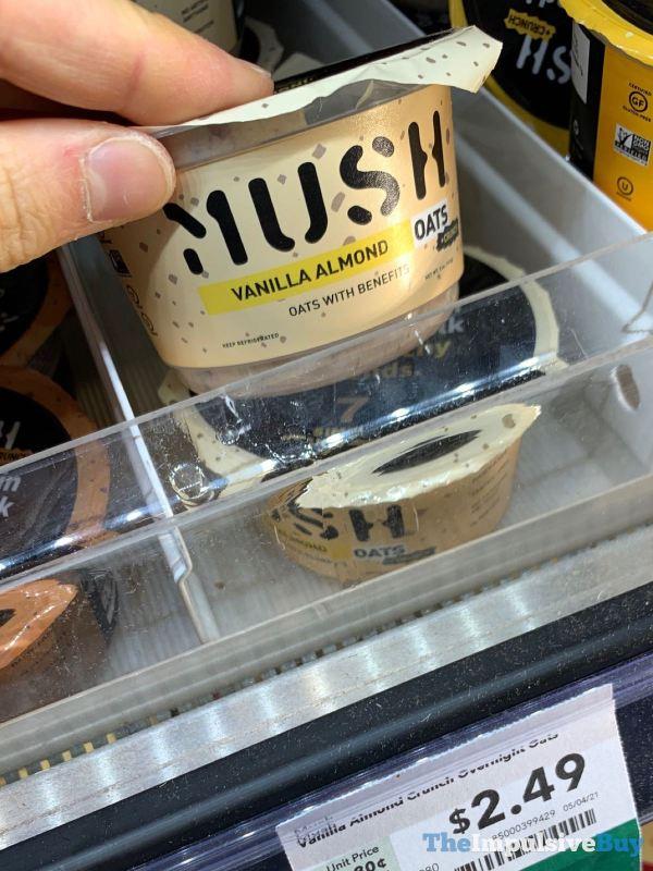 Mush Vanilla Almond Overnight Oats
