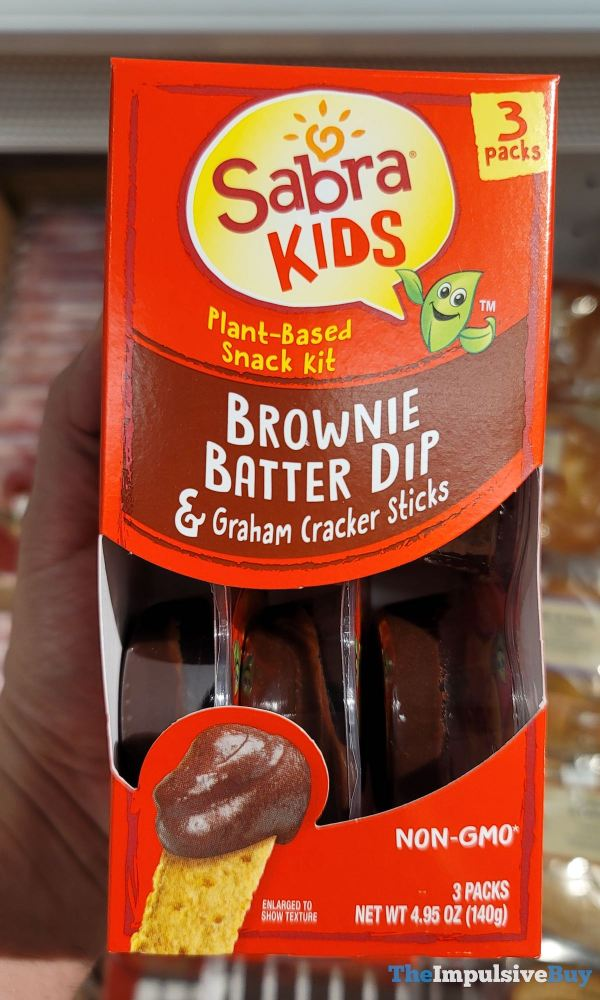 Sabra Kids Brownie Batter Dip  Graham Cracker Sticks