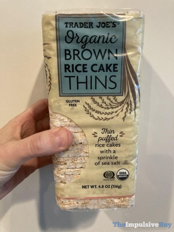 Trader Joe s Organic Brown Rice Cake Thins