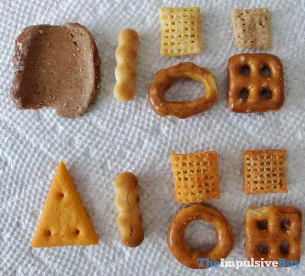 White Cheddar Chex Mix PIeces