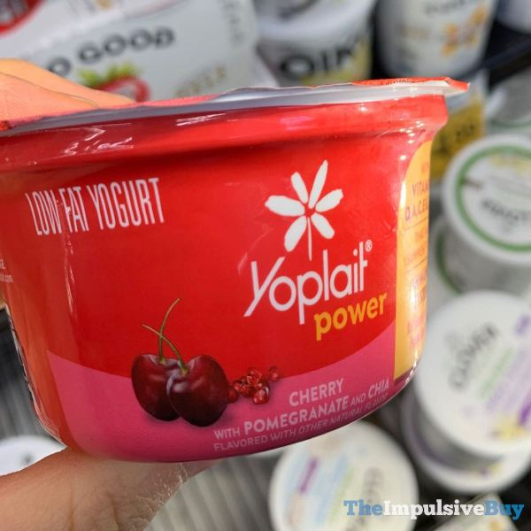 Yoplait Power Cherry with Pomegranate and Chia