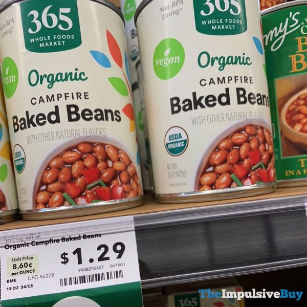 365 Whole Foods Market Organic Campfire Baked Beans