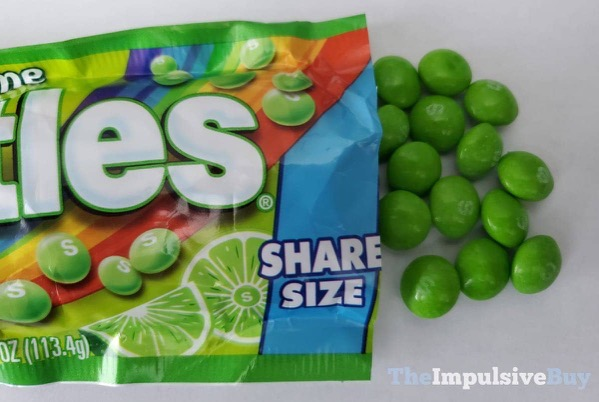 Limited Edition All Lime Skittles Pour