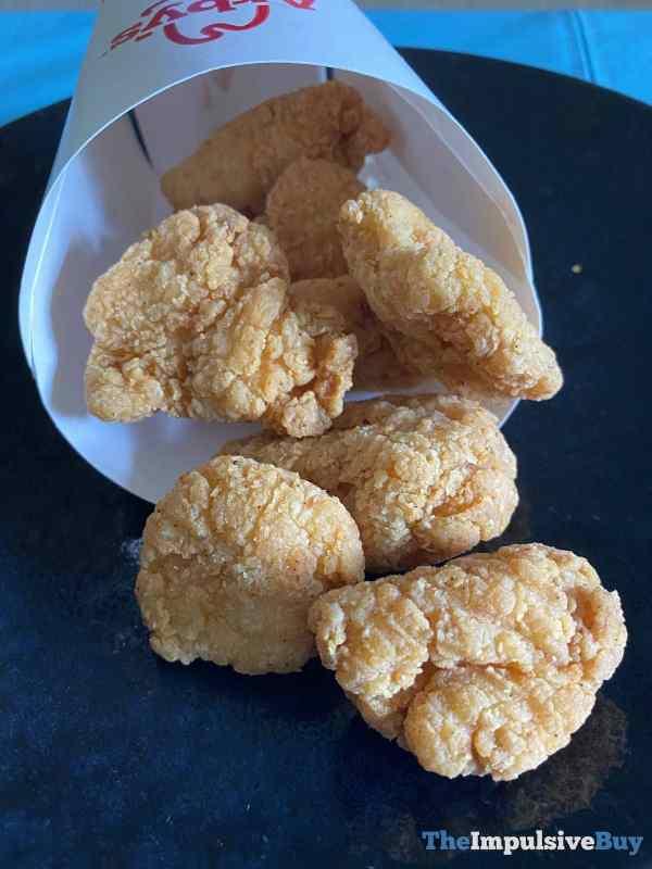 Arby s Premium Chicken Nuggets Spill