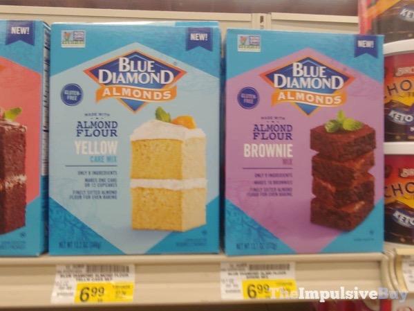 Blue Diamond Almond Flour Yellow Cake and Brownie Mixes