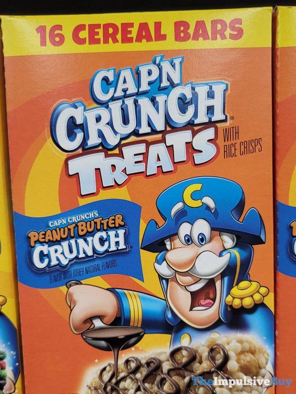 Cap n Crunch Treats Cap n Crunch s Peanut Butter Crunh
