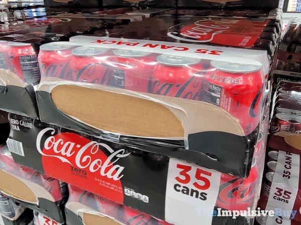 New and Improved Coca Cola Zero Sugar Case