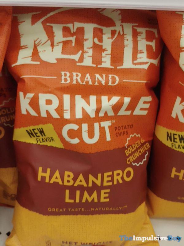 Kettle Brand Krinkle Cut Habanero Lime Potato Chips
