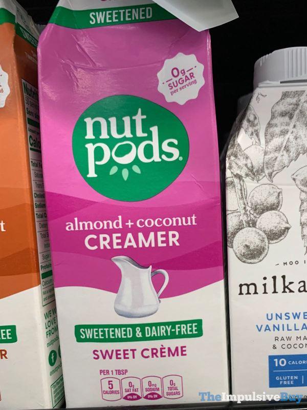Nutpods Sweet Creme Almond + Coconut Creamer