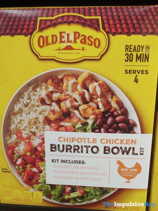 Old El Paso Chipotle Chicken Burrito Bowl Kit