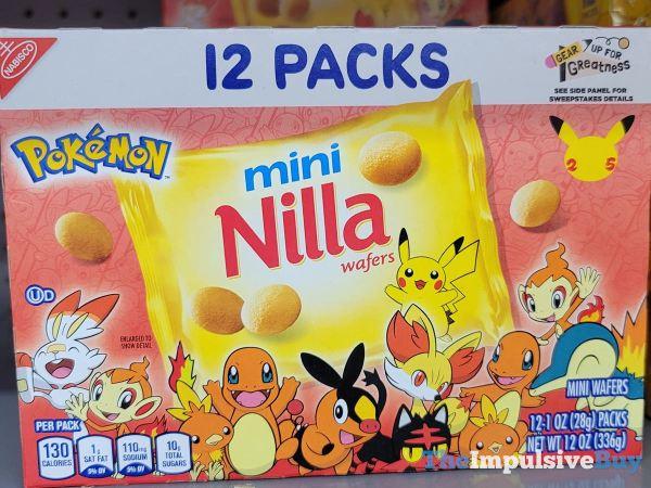 Pokemon Mini Nilla Wafers